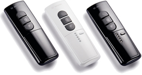 The Standard Remote Controls for Awnings and Retracta Roofs (Hand Held)